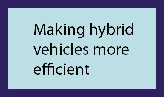 hybrid efficient vehicles